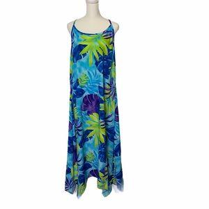 Me-too Maxi Floral Dress